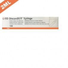 B.D Discardit 2ml-23G x 1