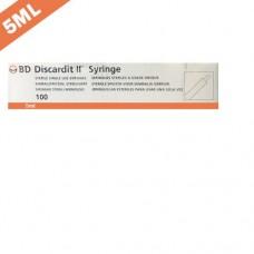 B.D Discardit 5ml-23G x 1
