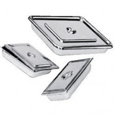 S.S Tray with Lid-8 x 3