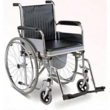 WHEEL-CHAIR-Karma Commode Wheel Chairs- Rainbow 6