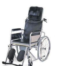 WHEEL-CHAIR-Karma Commode Wheel Chairs-Rainbow 8