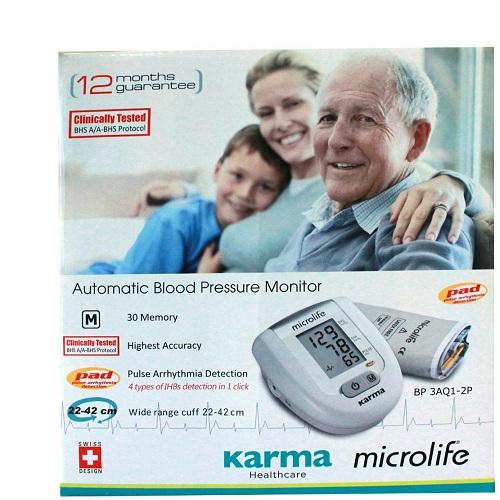 DIGITAL BP MONITOR Karma Automatic Blood Pressure Monitor
